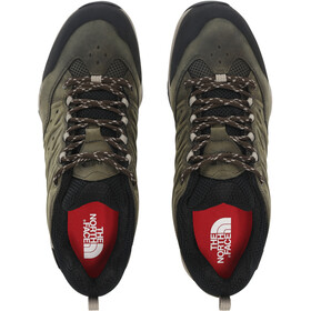 The North Face Hedgehog Hike II WP Chaussures Homme, tarmac green/TNF black